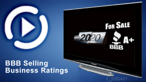 BBB Selling Business Ratings